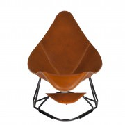 Abrazo Pampa Polo Modern Leather Armchair