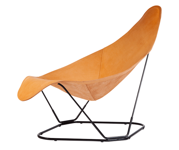 Modern Leather Armchair –  Crude Nature