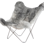 Grey Butterfly Chair