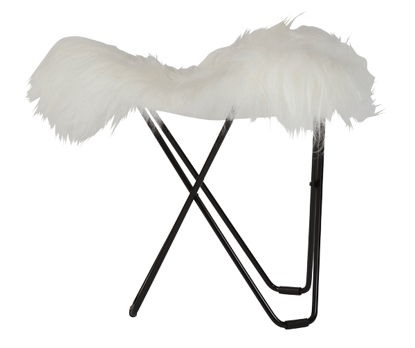 Sheepskin Stool – Flying Goose