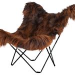 Sheepskin Butterfly Chair