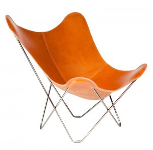 Pampa Mariposa Polo Chrome Frame Butterfly Chair