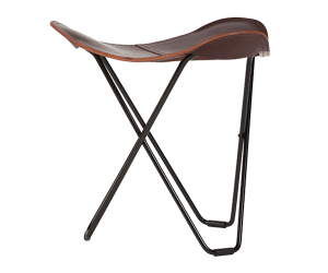 leather stool, flying goose