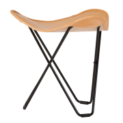 leather stool, flying goose,