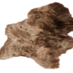 Brown Icelandic Sheepskin