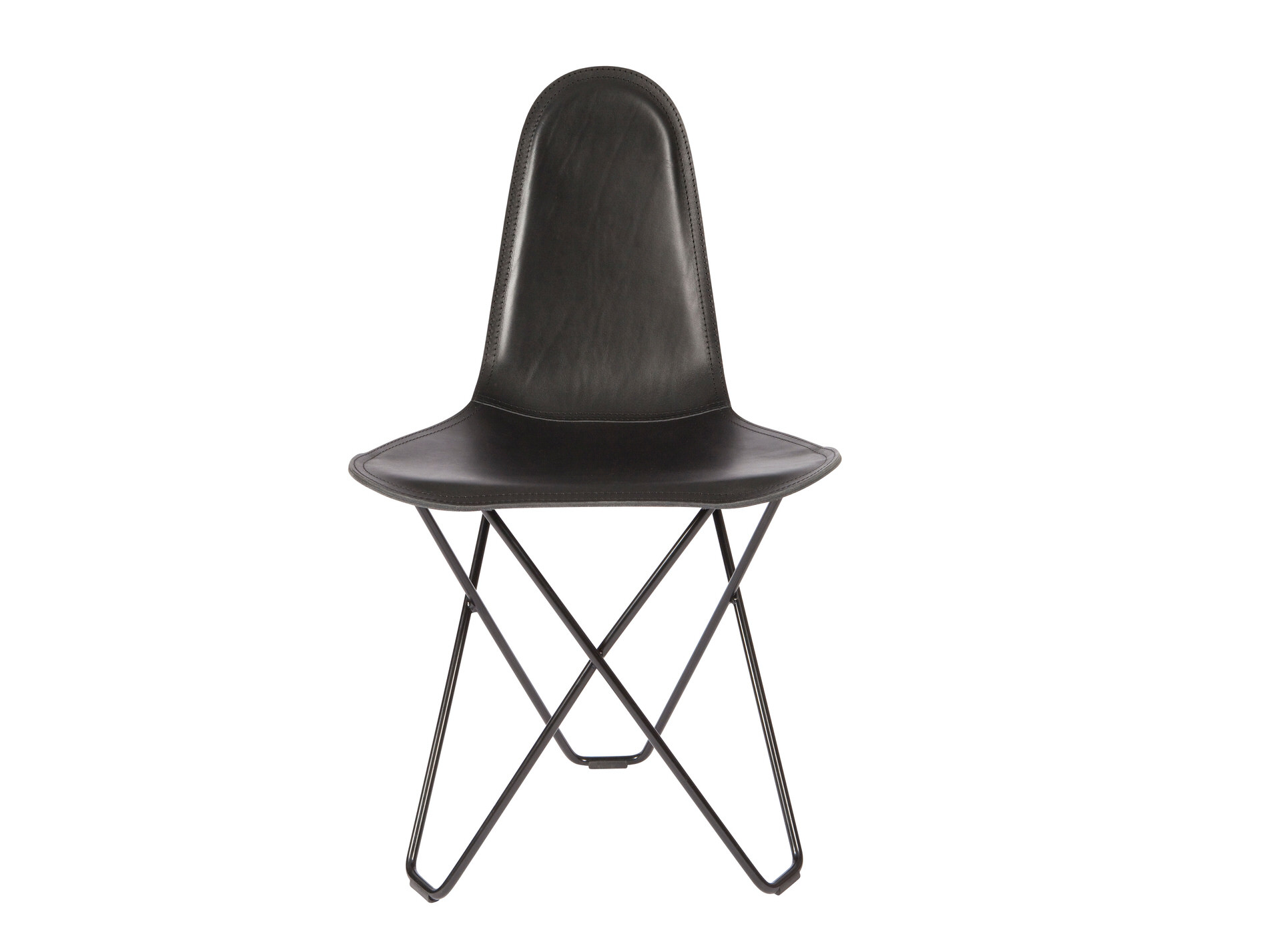 Modern Leather Dining Chair Cuero