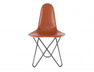 Modern Leather Dining Chair - Cactus Montana