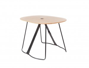 Modern Wood Side Table, Sierra