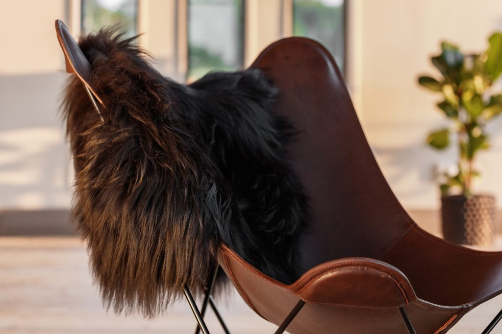 Icelandic Sheepskin Black