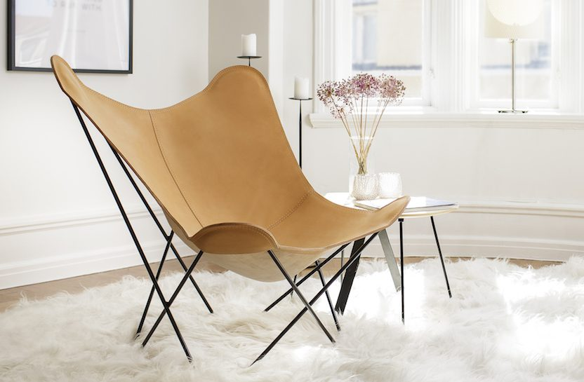 ... more expensive than other butterfly chairs. Unlike many other famous design companies we do not charge extra for our brand name.  sc 1 st  Cuero Design & Leather Butterfly Chair - Pampa Mariposa | Cuero Design