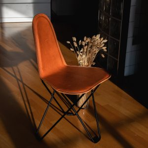cactus dining chair leather above