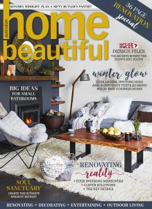 Beautiful Home Front Cover with Iceland Mariposa Natural Grey