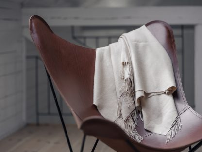 leather butterfly chair, italian leather
