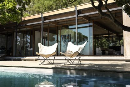 outdoor butterfly chair, sunbrella plus